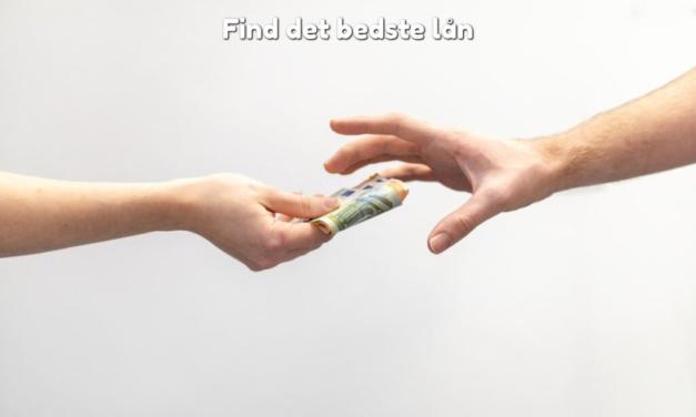 Find det bedste lån